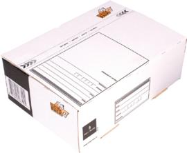 Cleverpack Postpakketbox 3  240X170X80MM Wit