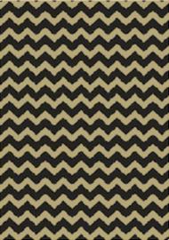 Bruna Cadeaupapier Kraft Zigzag 70 x 200 per rol