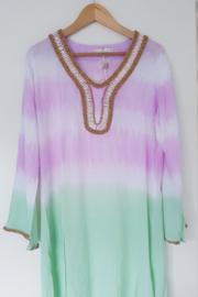 Tuniek Shell Tie Dye - Purple L