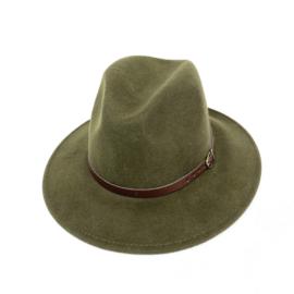 Hat Wool Army Green
