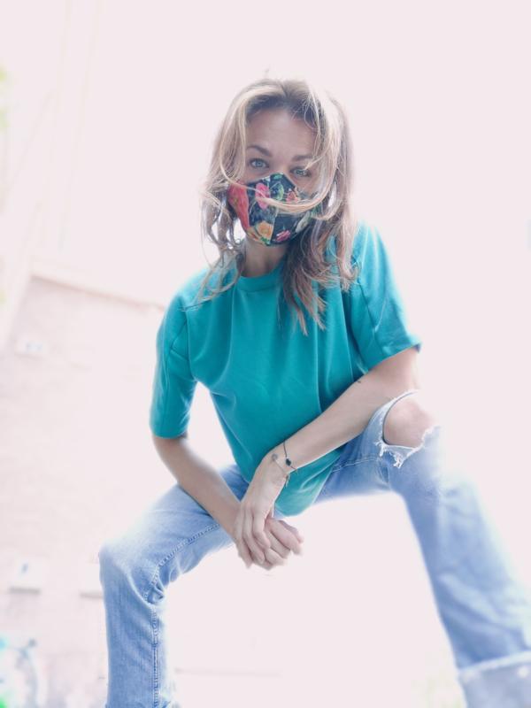 VETH - FLOWER FACEMASK | MOOIE MONDKAPJES