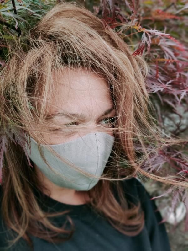 VETH - CANVAS COTTON GREY | MOOIE MONDKAPJES