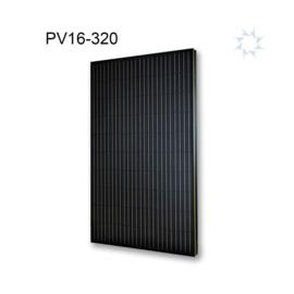 Indakzonnepaneel Viridian Solar Clearline All Black 320wp (Indakzonnepaneel)