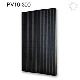 Zonnepaneel Viridian Solar Clearline All Black 300wp (Indakzonnepaneel)