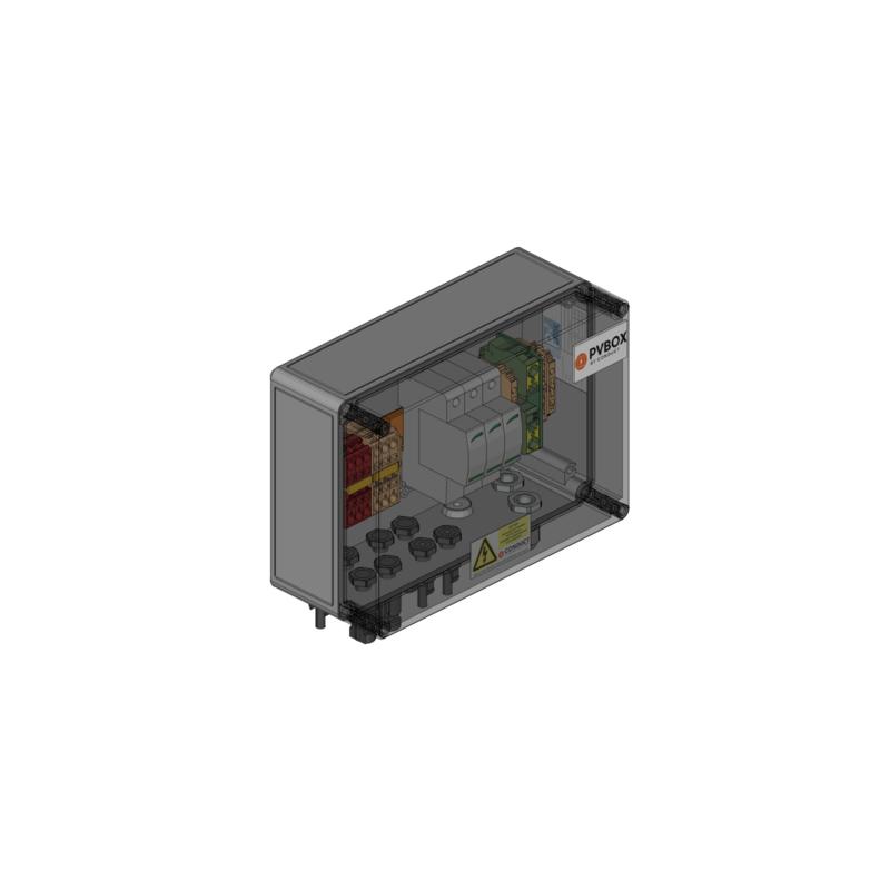 PVbox t.b.v. SolarEdge 5-17K
