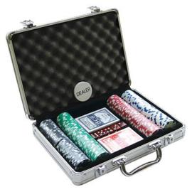 @Pokerset 200 Chips Dice 11.5 gram in Alu koffer