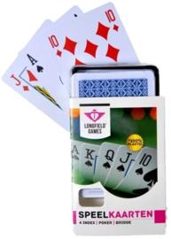 Speelkaarten 100% kunststof Longfield Per 6 Stuks