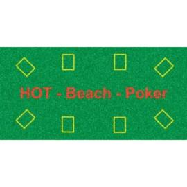 Poker Beach Badlaken groen 140x70 cm