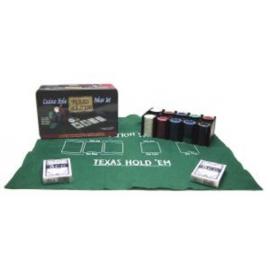 @Poker-set Texas Hold'em Blik 200 chips