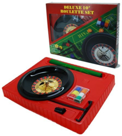 @Roulette set compleet 10 inch/25 cm