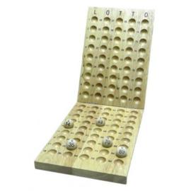@Lotto Koen Controlebord hout 90 ballen 20mm.