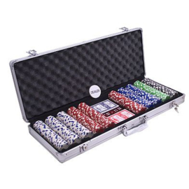@Pokerset 500 Chip Dice 11.5 gram in Alu Koffer