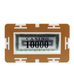 Plak / Plaque 30 gram Bruin Waarde 10000 Per 5