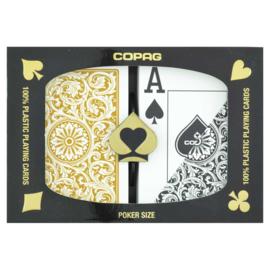 Copag Speelkaarten 100% Plastic Jumbo index double deck