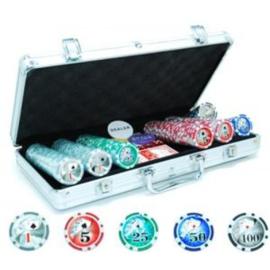 Poker koffer alu.300 Laser-fiches 11 gram