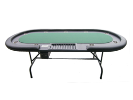 @Pokertafel Groen 240cm opklapbaar