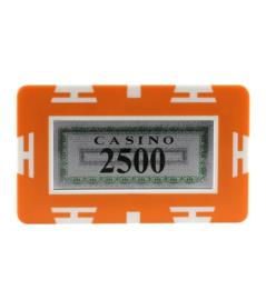 Plak / Plaque 30 gram Oranje Waarde 2500 Per 5
