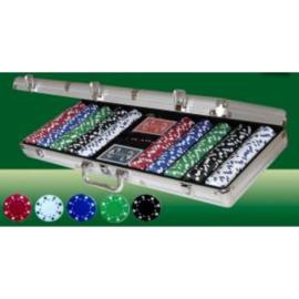 @Poker koffer Alu 500 Dice-fiches 11 gram
