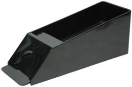 Black-Jack / Baccarat slof Zwart kunststof