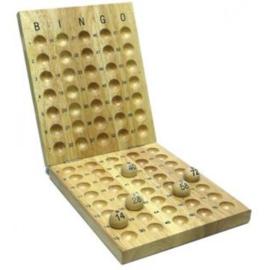 @Bingo controlebord hout 75 ballen voor 20mm ballen