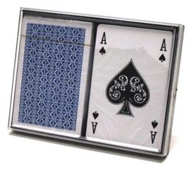 Speelkaarten set 100% kunststof Longfield Dubbel Per Stuk