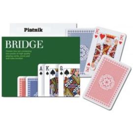 @Speelkaarten-Set dubbel Bridge Piatnik