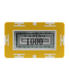 Plak / Plaque 30 gram Geel Waarde 1000 Per 5