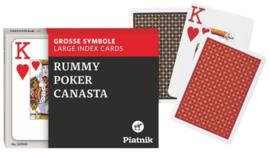 @Poker SpeelkaartenSet OPTI Dubbel Piatnik