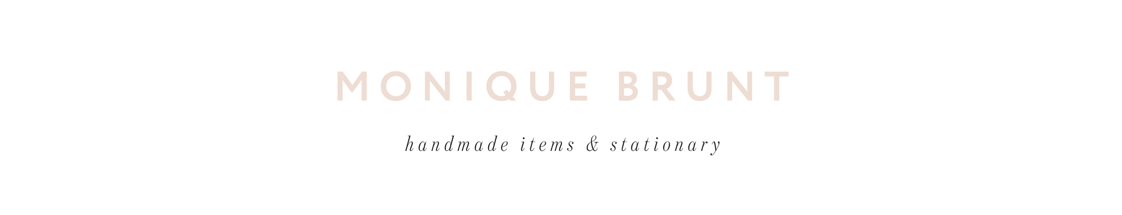 Monique Brunt Shop