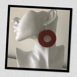 Sieratas oorbellen rood