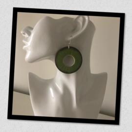 Sieratas oorbellen groen