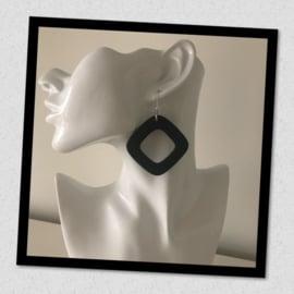 Sieratas oorbellen zwart