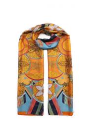 Sjaal Silk Blue