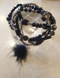 Armbanden set Black #11