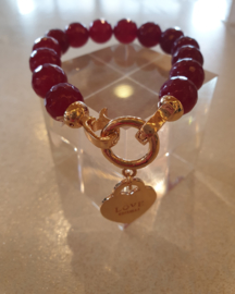 Armband Love Red #3