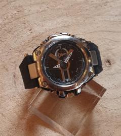 Heren Horloge, Black&Chrome Vive #5
