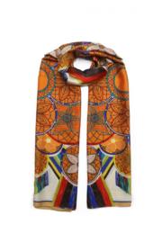 Sjaal Silk Orange