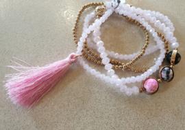 Armbanden set Roze