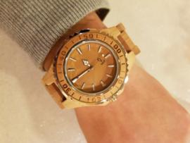 Heren Horloge Wood