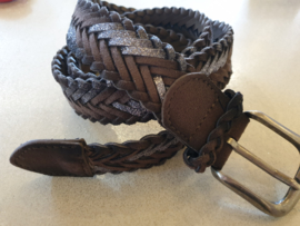 Riem Silver Dark Brown