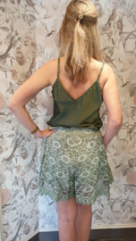 Short Lace Groen