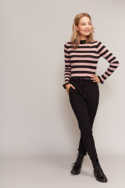 Trui Pink&Black Stripes C&S Designs Paris