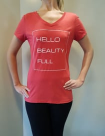 Tshirt Hello! Red Frost