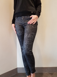 Toxik3 Jeans Black Soft Print