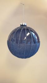 Kerstbal Blue #014