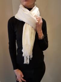 Sjaal met strass Wit