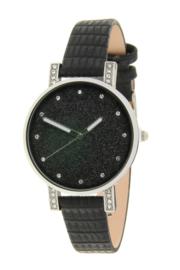 Ernest Horloge Livia Croco Zwart #E5