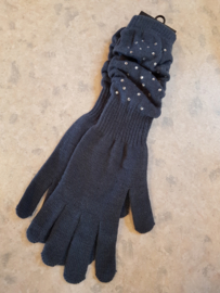 Lange Handschoenen met strass
