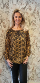 Blouse Florence Geel