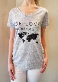 Tshirt Hello Beauty Full Earth